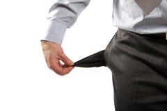 失望的生意人 免版税库存图片