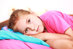 失眠 免版税库存图片
