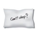 失眠 免版税库存照片