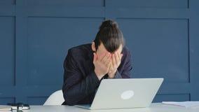 失败企业差错facepalm错误后悔人 股票录像