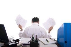 失败强调的生意人 免版税库存图片