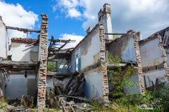 失败的房子 免版税库存照片