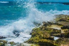 失败的海浪 库存图片