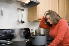 失败厨房 免版税图库摄影