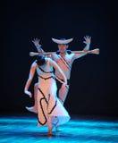 失败差事的失望到迷宫现代舞蹈舞蹈动作设计者玛莎・葛兰姆里 免版税图库摄影
