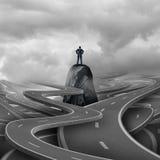 失去的企业概念 免版税图库摄影