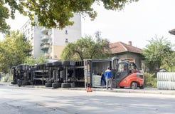 失败的卡车 免版税图库摄影