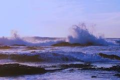 失败的海浪 免版税图库摄影