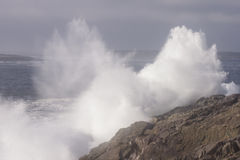 失败的海浪 免版税库存照片
