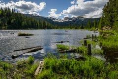 失去的湖-科罗拉多 图库摄影