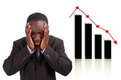 失败股票 库存图片