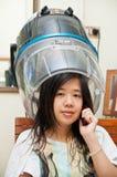 头发妇女 免版税图库摄影