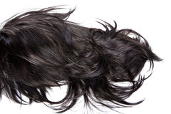头发纹理 免版税库存照片