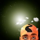 头脑路 免版税图库摄影