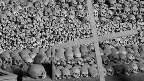 头骨头在那不勒斯 图库摄影