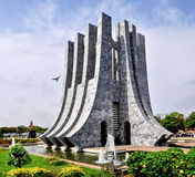 夸梅・恩克鲁玛纪念公园-阿克拉,加纳 免版税库存图片