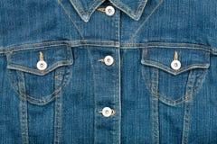 夹克牛仔裤 免版税图库摄影