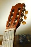 夹子吉他 免版税库存照片