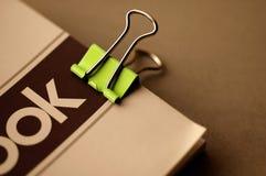 夹子绿色 免版税库存照片