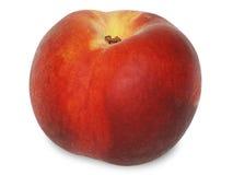 夹子路径桃子白色 库存照片