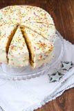 夹心蛋糕 库存照片