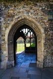 奇切斯特大教堂,三位一体的大教堂教会,英国 免版税图库摄影