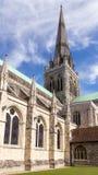 奇切斯特大教堂 免版税库存图片