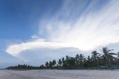 奇怪的云彩 图库摄影