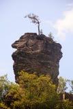 奇怪的岩石 库存图片