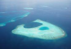 奇怪的环礁 免版税库存照片