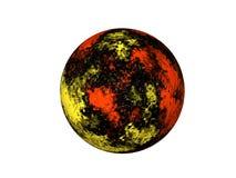 奇怪的行星 免版税库存照片