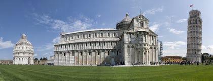 奇迹广场在比萨,托斯卡纳,意大利 库存图片