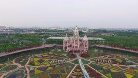 奇迹庭院在上海 影视素材