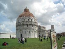 奇迹的领域在比萨,意大利 免版税库存图片