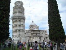 奇迹的领域在比萨,意大利 免版税库存照片