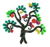 奇迹结构树 向量例证
