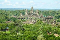 奇迹吴哥窟暹粒市柬埔寨王国  免版税库存照片