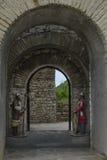 洛维奇,保加利亚中世纪堡垒  免版税库存图片