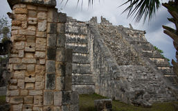 奇琴伊察墨西哥寺庙 免版税图库摄影