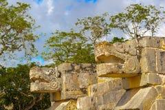 奇琴伊察,玛雅人构建的一个大哥伦布发现美洲大陆以前城市民用 库存图片