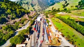 奈尔斯峡谷铁路 免版税图库摄影