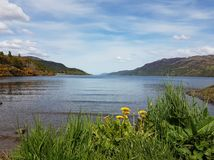 奈斯湖苏格兰 库存图片
