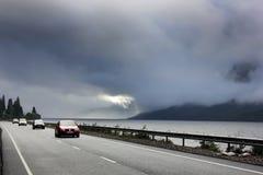 奈斯湖苏格兰 免版税图库摄影