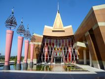 奈比多,缅甸- 2013年12月12日:t的Myat Mingalar旅馆 库存照片