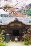 奈良寺庙在春天 免版税图库摄影