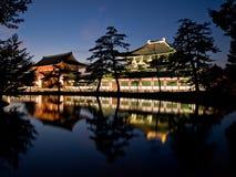 奈良寺庙todaiji 免版税库存图片