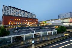 奈良火车站 免版税库存照片