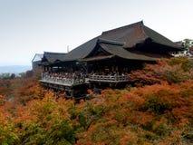 奈良,日本11月23日:很多人参观清水寺Te 库存照片