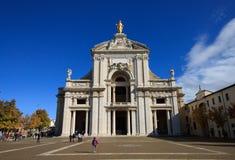 奉告祈祷大教堂degli玛丽亚・圣诞老人 图库摄影