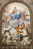 奉告祈祷degli圣洁玛丽亚・玛丽・罗马圣诞老人 库存照片